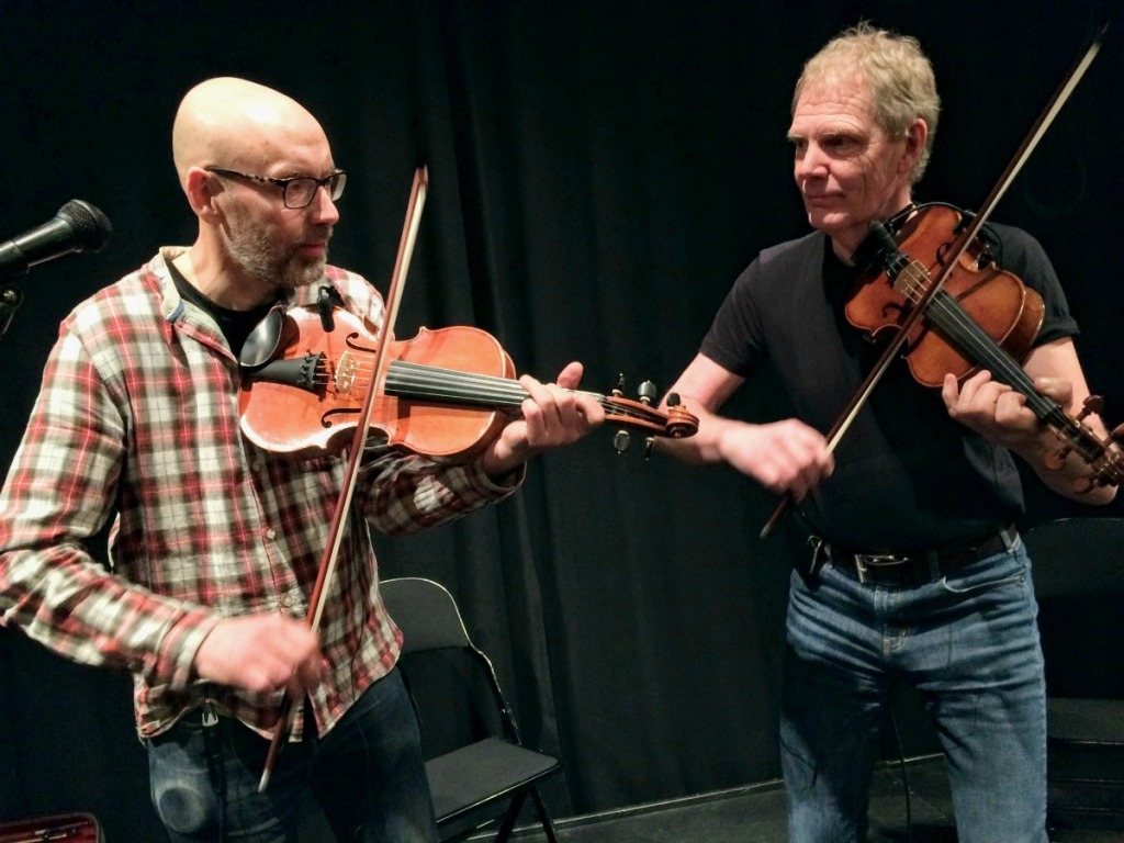 Anders Norudde och  Ulf Karlsson (i omvänd ordning)