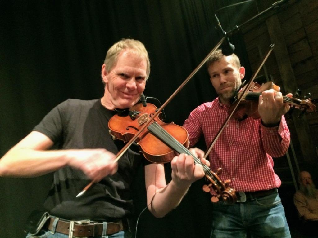 Olof Ericsson och Ulf Karlsson (i omvänd ordning)