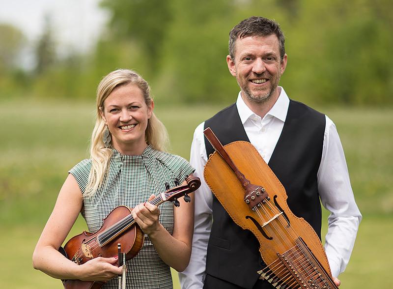 MiaMarin och Niklas Roswall